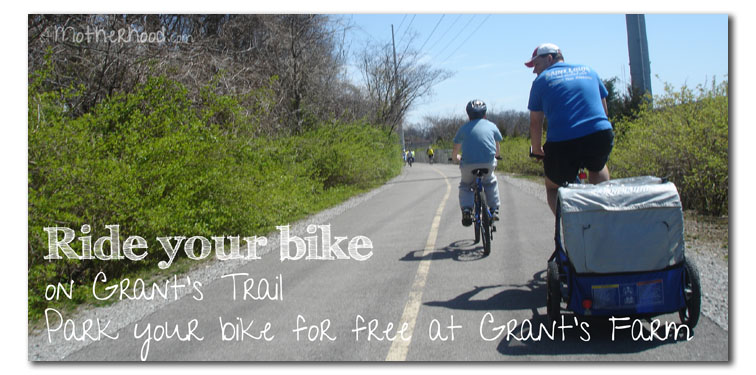ride your bike to Grant's Farm