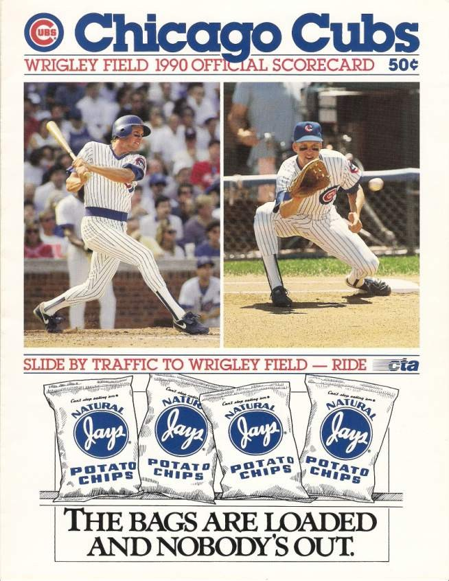 90e4259e3 My favorite scorecard is the 1971 Cubs edition. I m not sure if all the  programs that year had a printing error that made the colors appear out of  ...