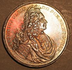 1710 Brunswick-Wolfenbuttel of Anton Ulrich