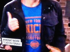 Men At Work - New York Knicks T-Shirt