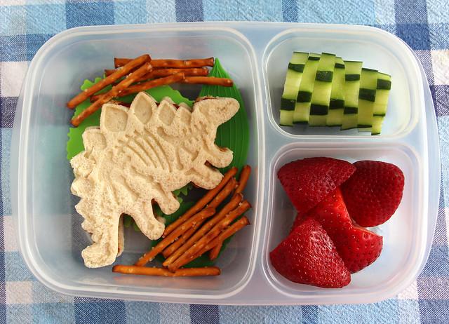 Preschool Dinosaur Bento #624