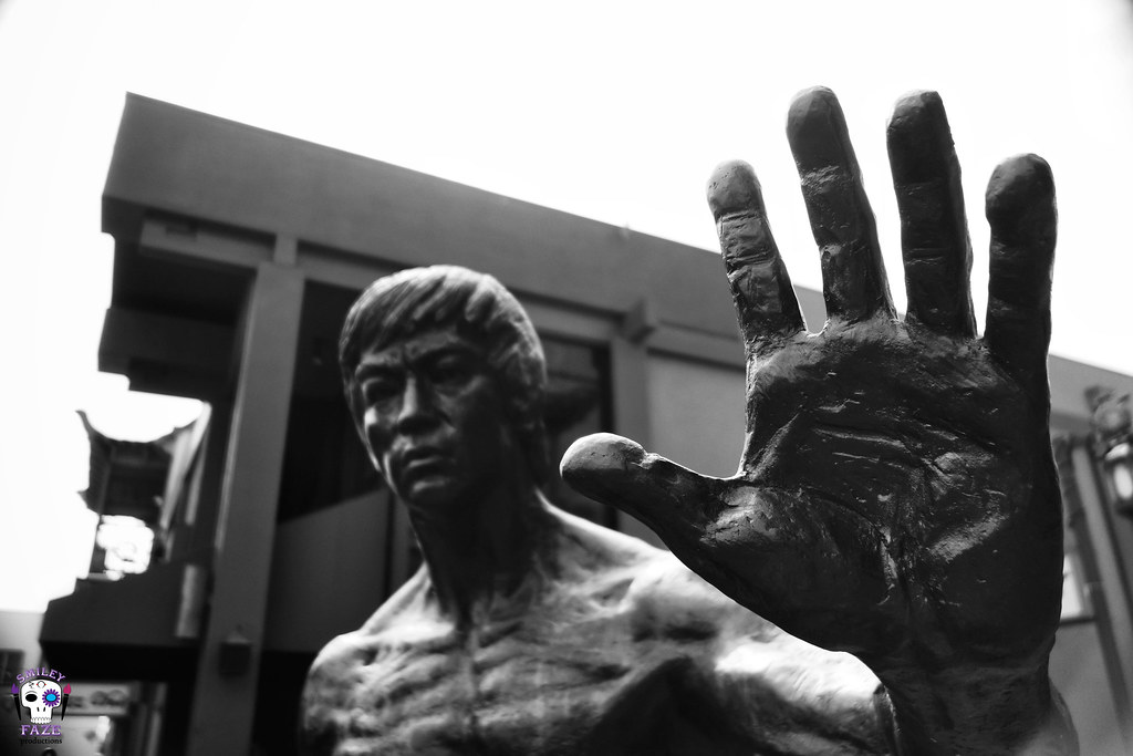 High Five (B&W)