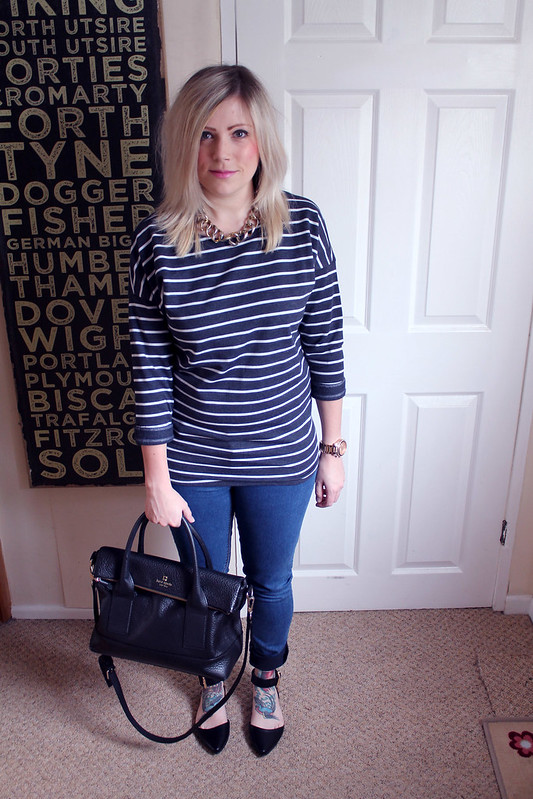 Stripes outfit post