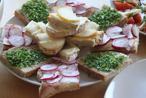 vegetarische delikatessen.