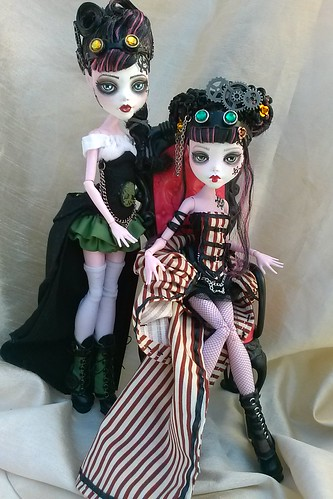by Pretty Pistol Designs1st and 2nd Steampunk Draculara