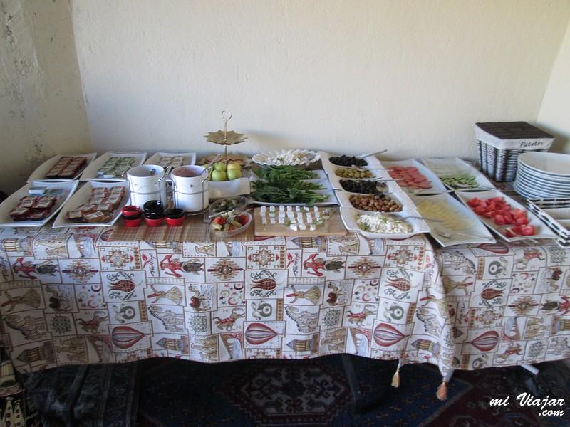 Göreme. Desayuno turco tradicional