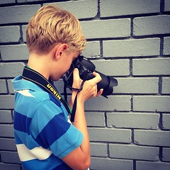 Raphael. Such a spectacular young photographer. #photowalk #singapore