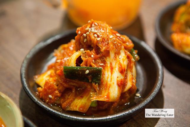 Young kimchi