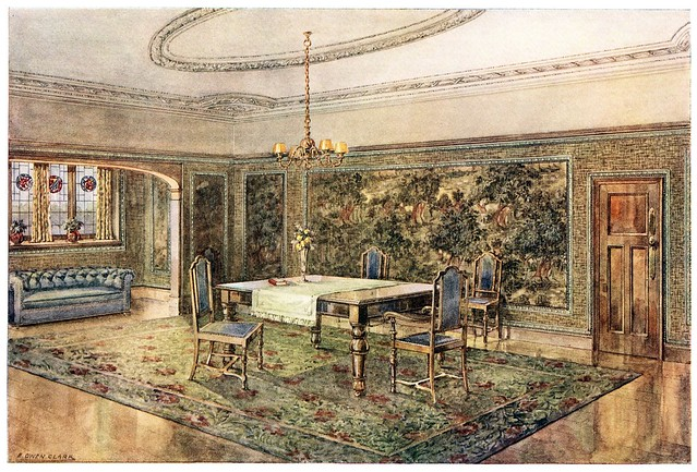 wallpaper design 1910 in situ
