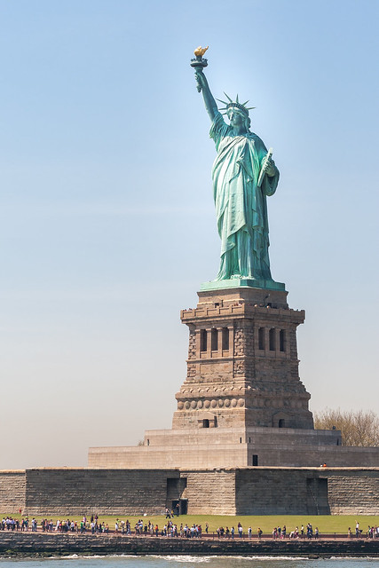 Statue de la liberte flickr photo sharing for Createur statue de la liberte