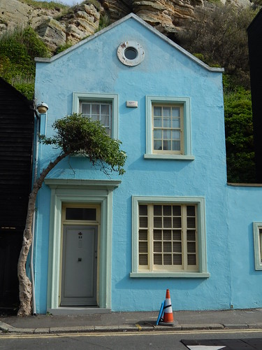 The Blue House Free Stock