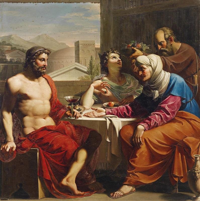 Andrea Appiani - Jupiter und Merkur bei Philemon und Baucis (c.1800)