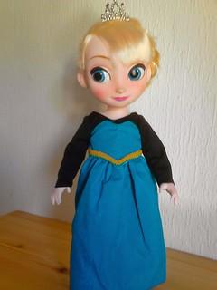 Robe Reine d'Arendelle
