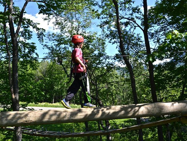 apple creek course 2 - Arbor Trek Smugglers Notch, Vermont