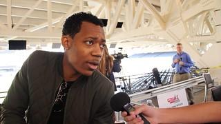 Tyler James Williams at Walker Stalker Fan Fest INTERVIEW