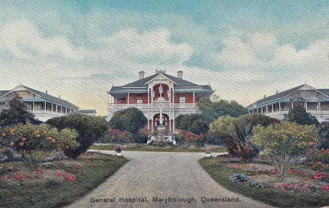 General Hospital Maryborough, Queensland, Australia - circa 1910