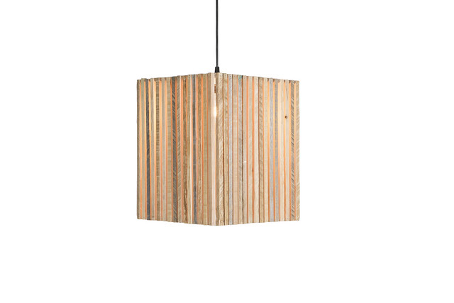 Cypress Cage Chandelier.