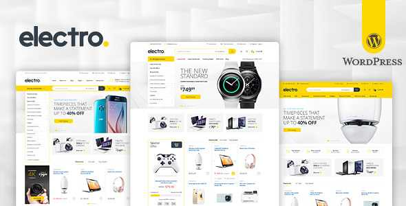 Electro WordPress Theme free download