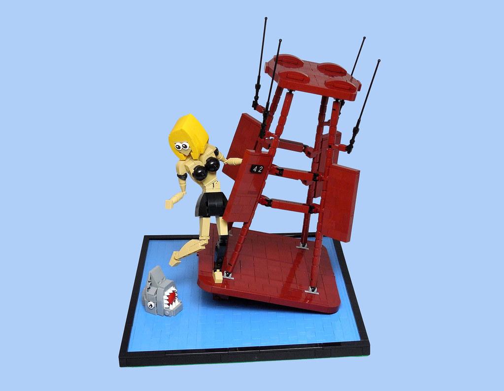 The Shallows (custom built Lego model)