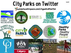 City Parks on Twitter 03.2017
