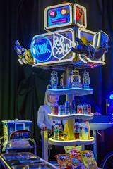 Popcorn-Verkauf-Roboter