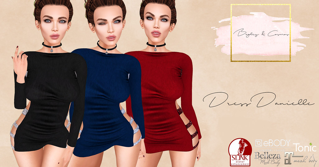 B&C Maitreya Dress Danielle-fatpack - SecondLifeHub.com