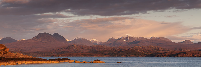Last light, Gairloch