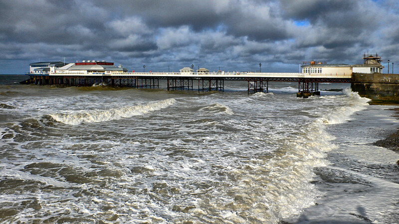 Cromer Pier From The West