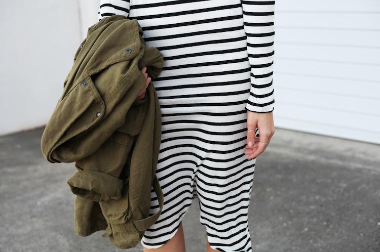 Modern Legacy Fashion Blog Australia ASOS State of Fashion Bassike stripe Isabel Marant khaki Acne Pistol Ray Ban (1 of 1)
