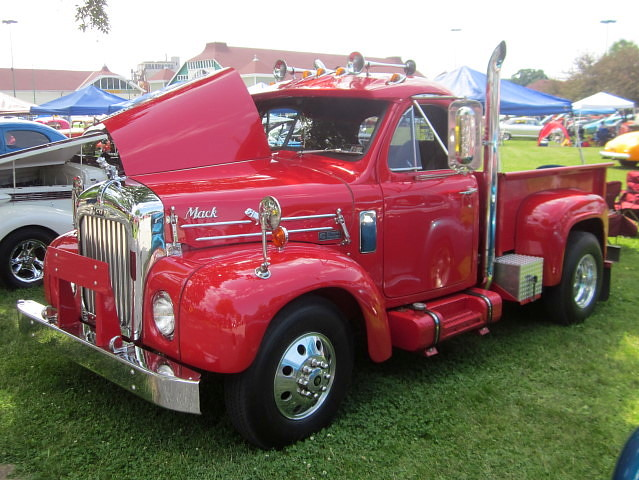 1961 Mack Model B Pickup Flickr Photo Sharing