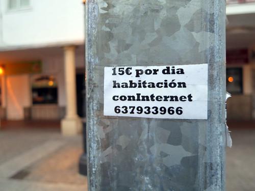 Habitación con internet