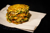 Okonomiyaki (vegetable pancakes)