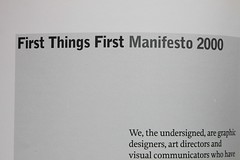First Things First Manifesto 2000