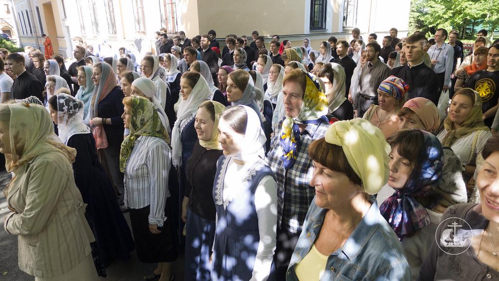 9 июня 2013, Литургия в Неделю 6-ю по Пасхе, о слепом