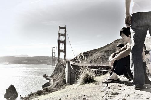 sanfrancisco california bridges tourists goldengatebridge hcs nikkor18300mm clichésaturday