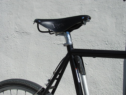 Brooks B17 Standard, Nitto S84 Seatpost