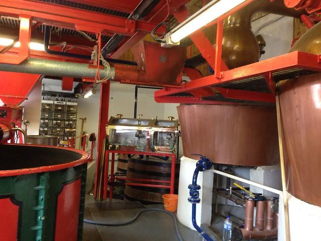 Smallest legal distillery in Scotland.