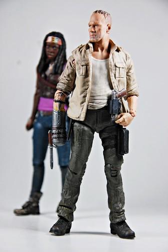 Michonne & Merle Dixon