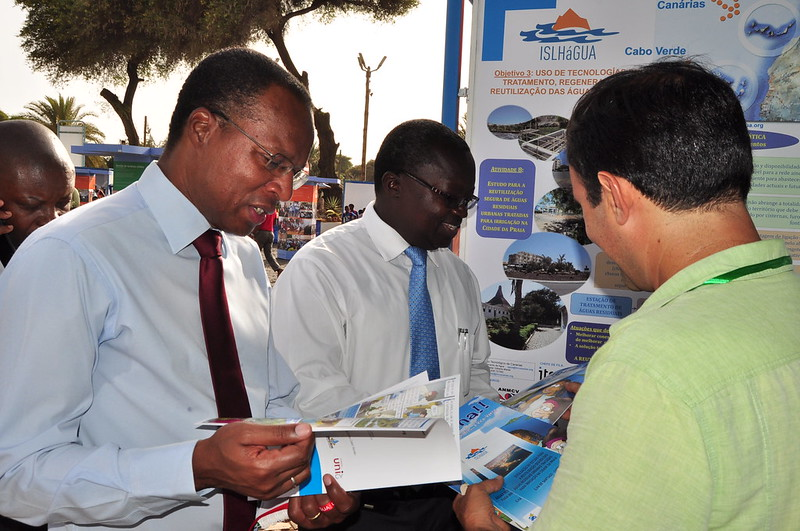Participación en Feria de Medioambiente de Praia, Cabo Verde