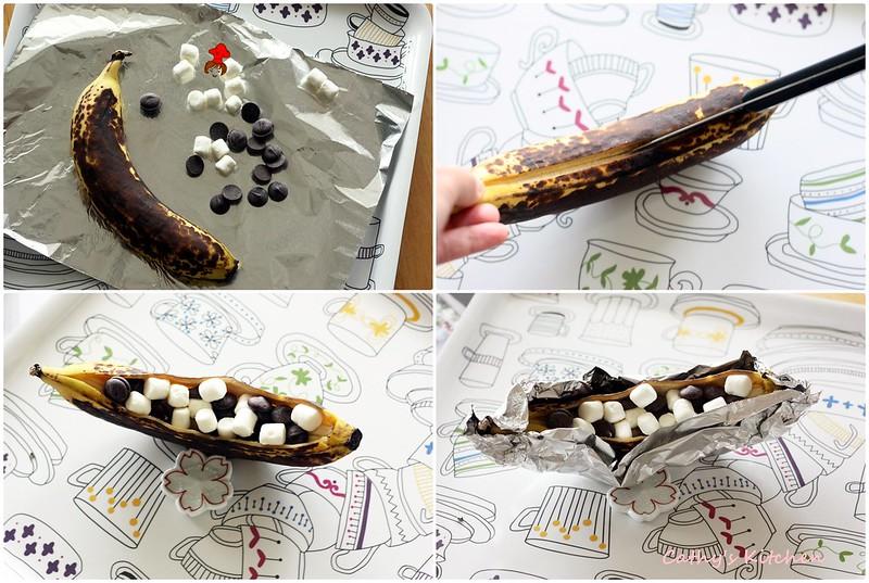 香蕉綿花兒一條船 Grilled banana 4.1