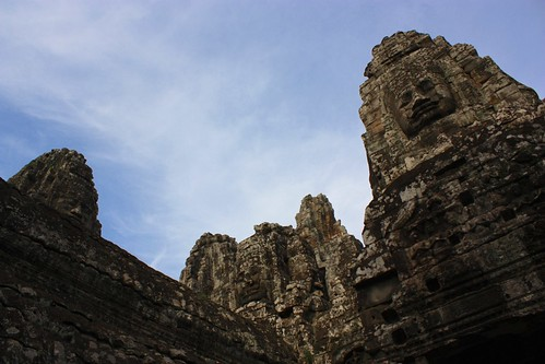 it felt like everything at Angkor Thom was just looking straight at you