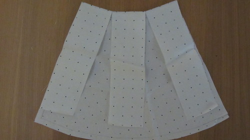 Flared skirt pattern