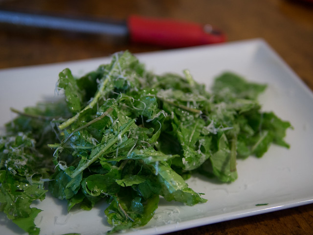 The Simplest Arugula Salad Recipe in the world Olive Oil Lemon arugala