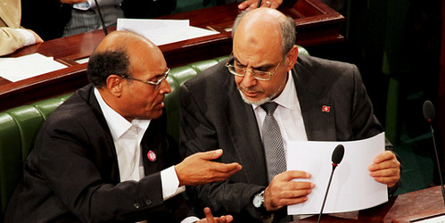 Marzouki Breaks with Party, Opposes Bill Excluding Ben Ali-Era Politicians