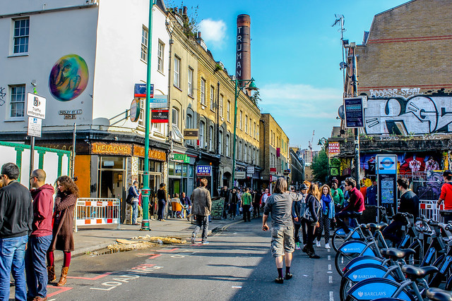 Brick Lane en Londres