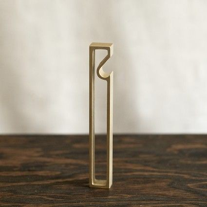 """Frame"" Brass Bottle Opener"