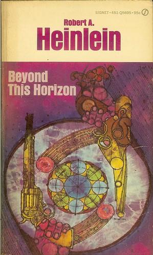 Beyond This Horizon - Robert A. Heinlein - cover artist Gene Szafran