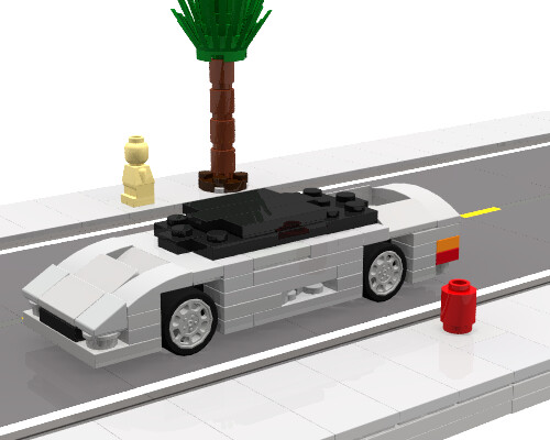Mini Jaguar XJ220