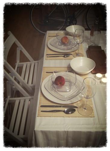 Diner En Blanc Table Setting