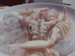 shrimp, crustacean, seafood, food, dish, cuisine,